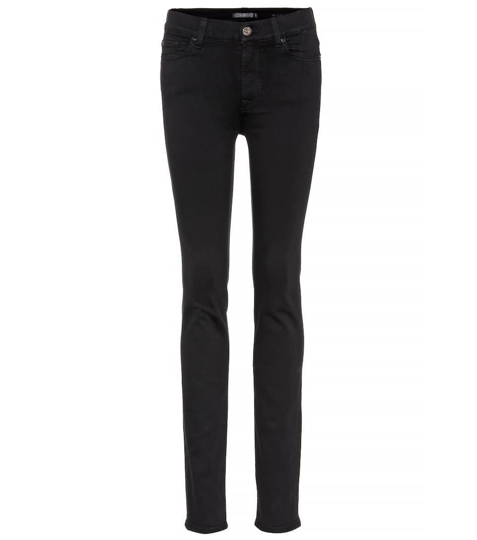 7 For All Mankind High-Rise Jeans Rozie