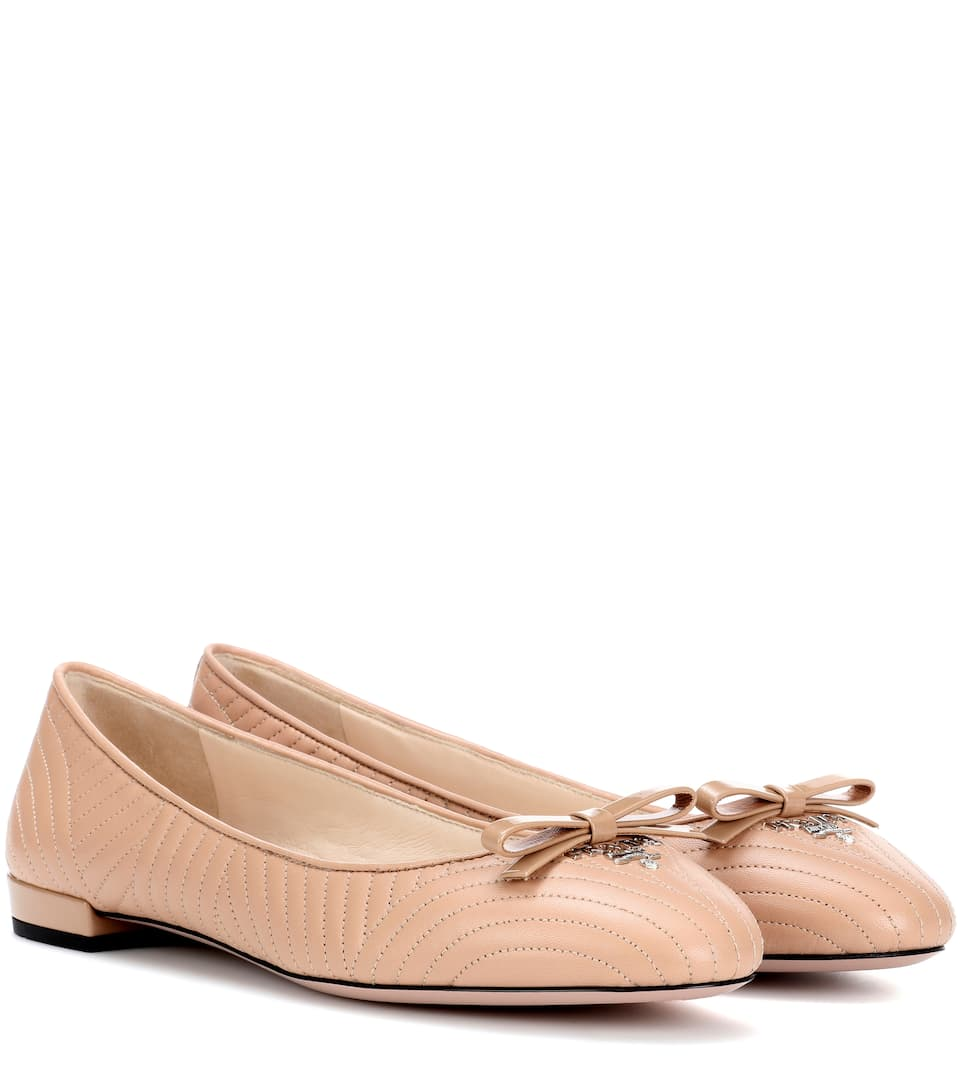 PATENT BALLERINA FLAT WITH BOW