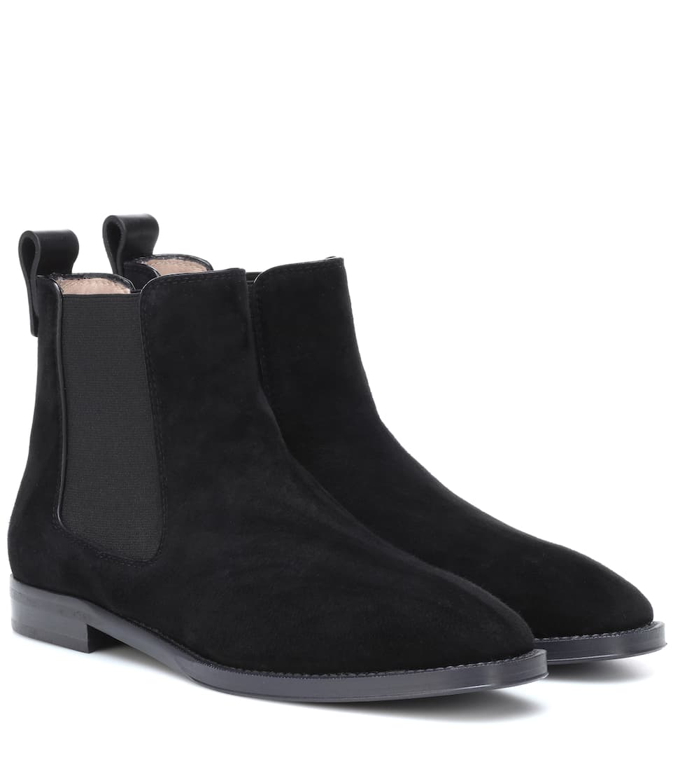 Atom Suede Ankle Boots by Stuart Weitzman