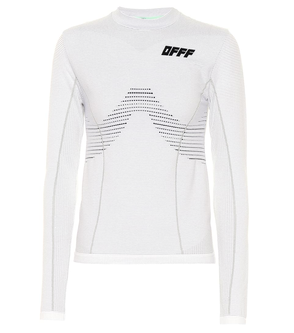 Off-White Accessories Stretch jersey top
