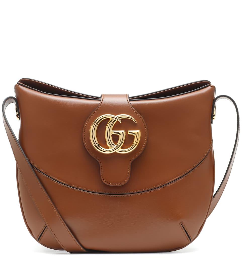 08f0d7129b9 Arli Medium Leather Shoulder Bag - Gucci