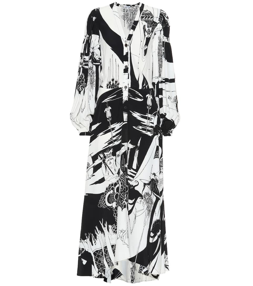 b15e518fbd9c Loewe - Salome printed shirt dress   Mytheresa