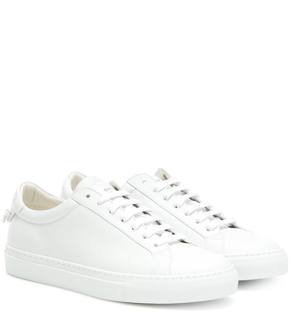 White Givenchy Urban Knots low top