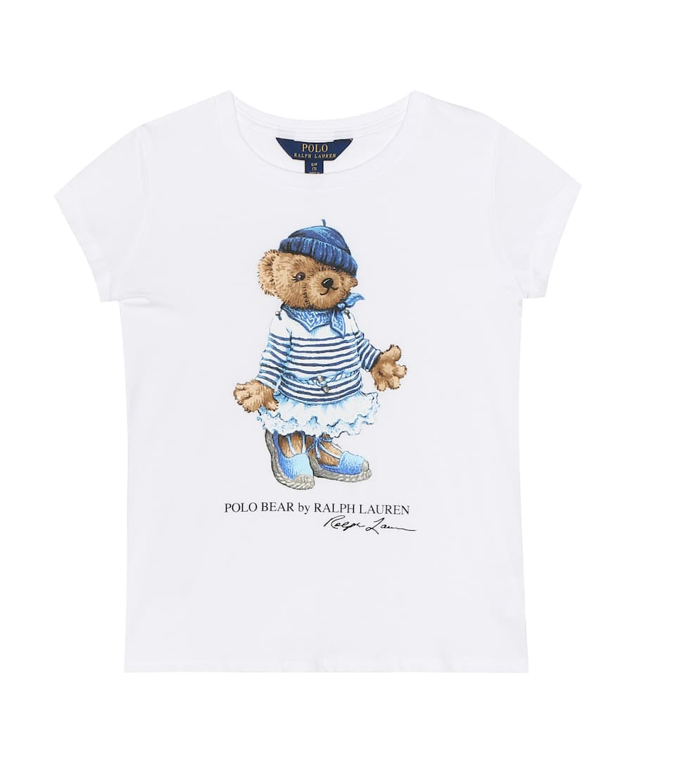 newest fc82d a1545 Polo Bear printed cotton T-shirt