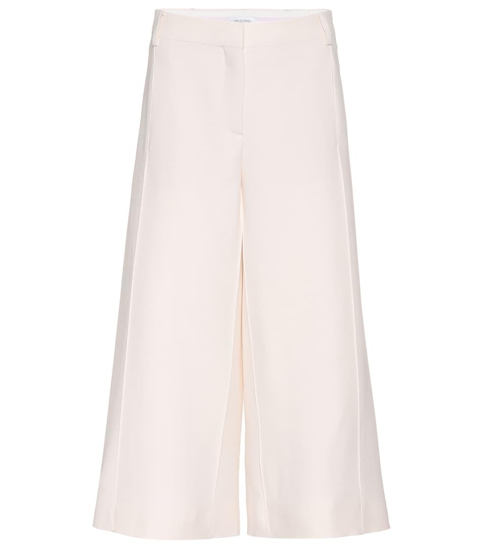 Valentino Culottes aus Wolle und Seide