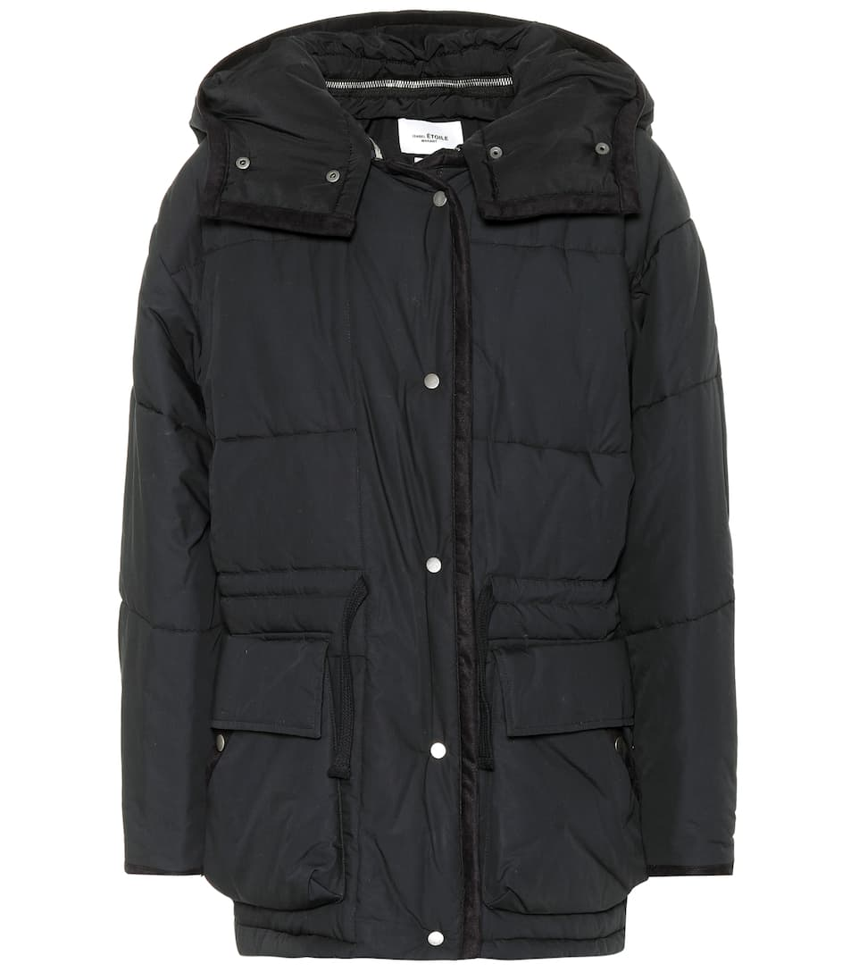 BULLE OVERSIZED HOODED QUILTED SHELL JACKET