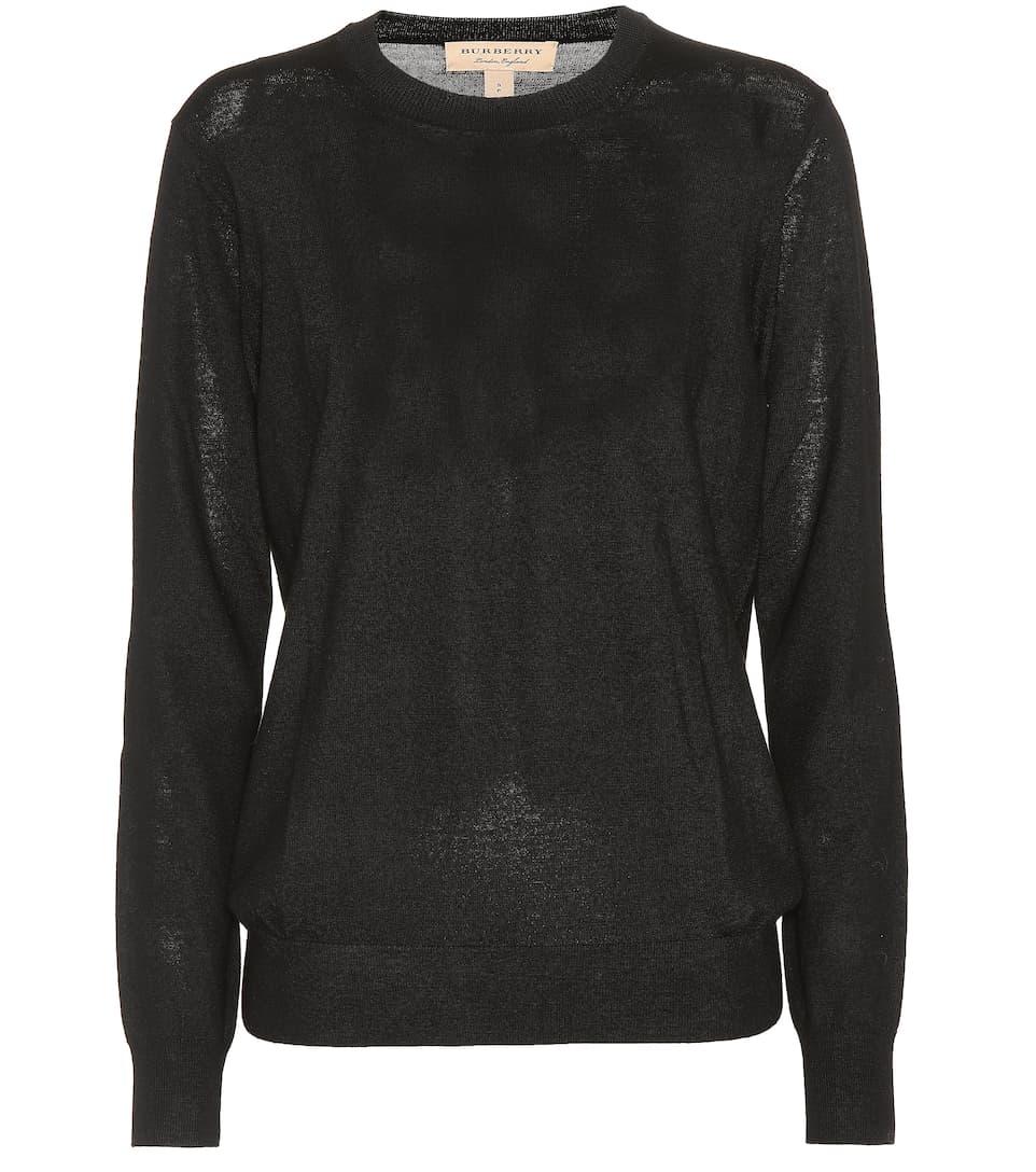 9680e013d13011 Merino Wool Crewneck Sweater - Burberry | mytheresa.com