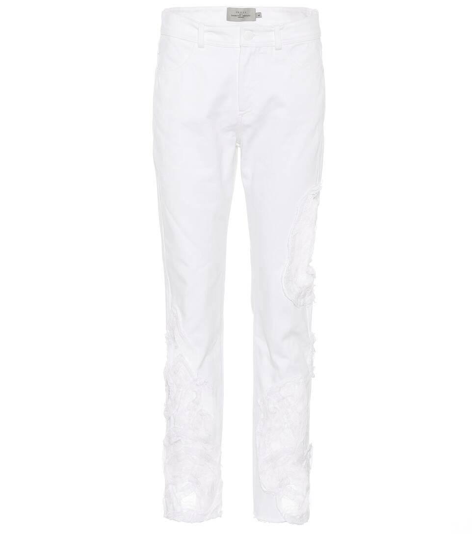 Preen by Thornton Bregazzi Jeans aus Baumwolle