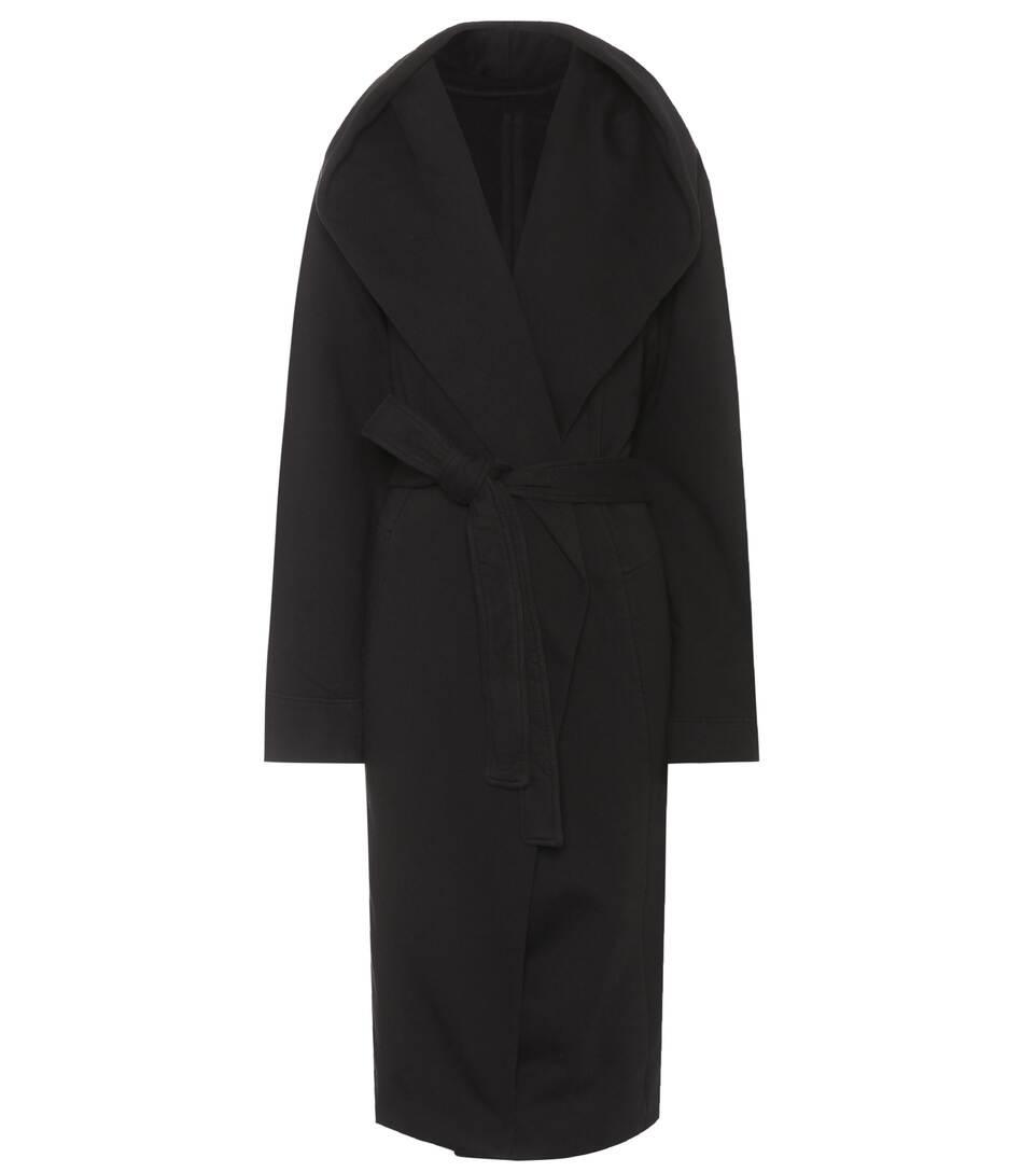 Rick Owens Langer Mantel aus Baumwolle