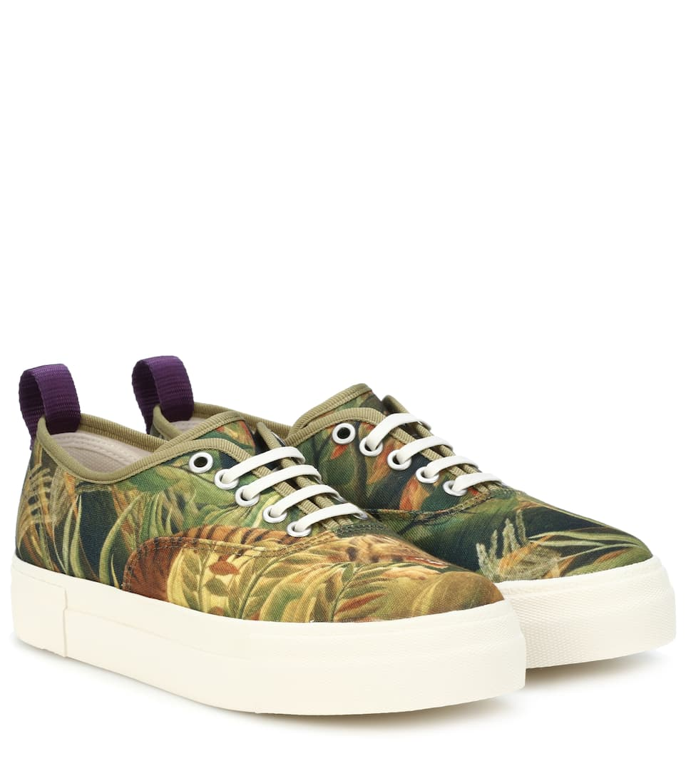 Mother printed canvas sneakers Eytys PRx9y4N0