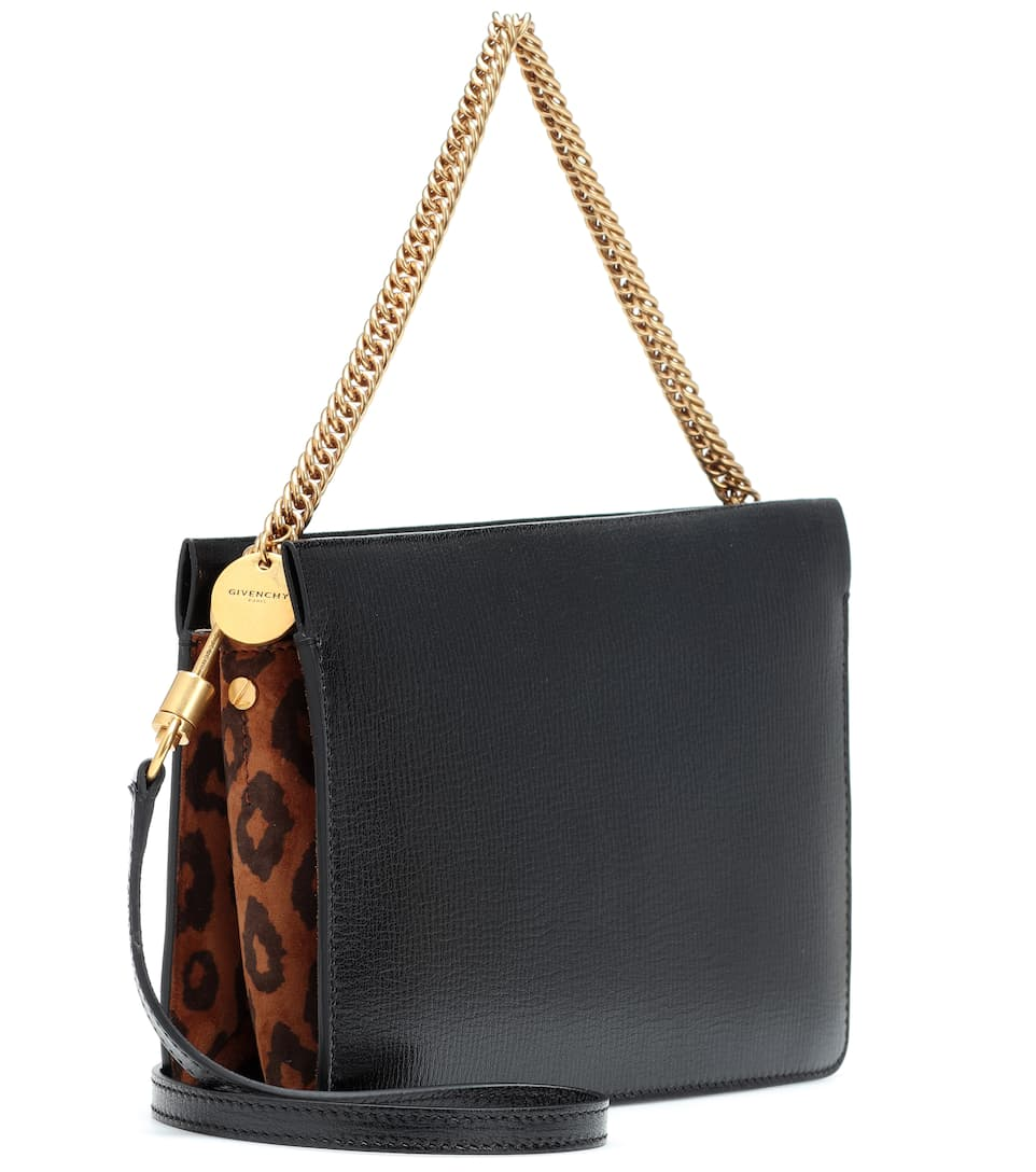 Givenchy Cross3 Pelle In E Suede Borsa v8ymnwON0