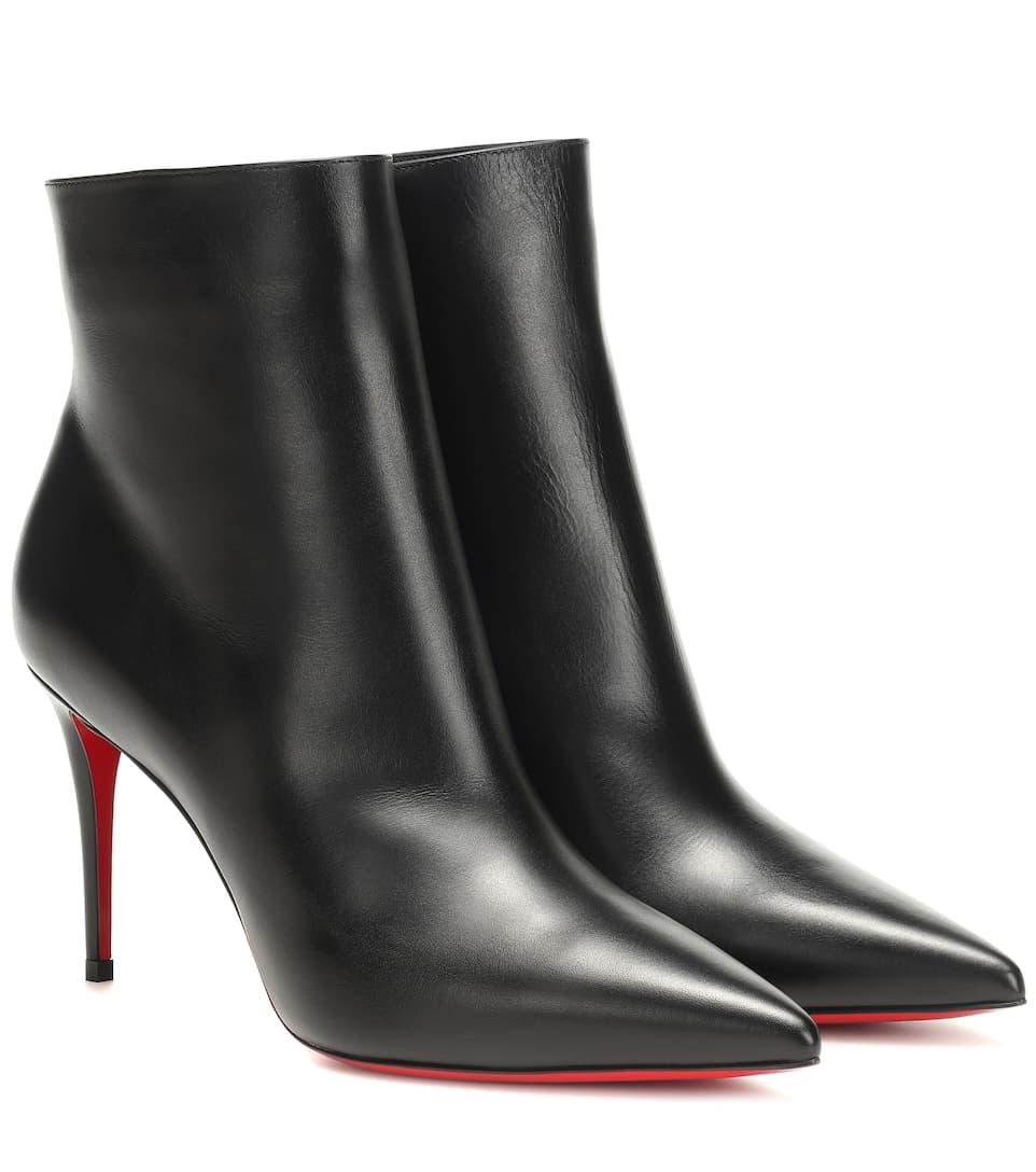 261bac27941 So Kate 85 Leather Ankle Boots | Christian Louboutin - Mytheresa