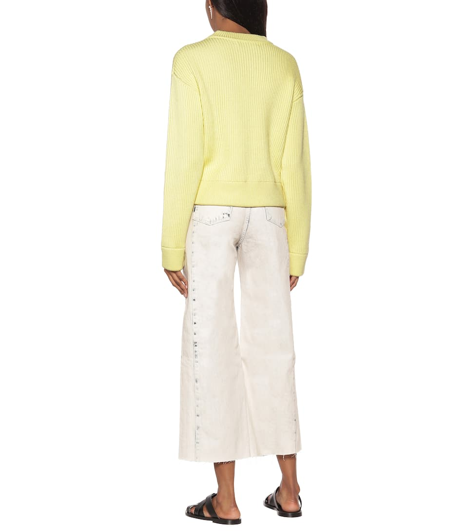 Proenza Schouler - Cropped wool sweater