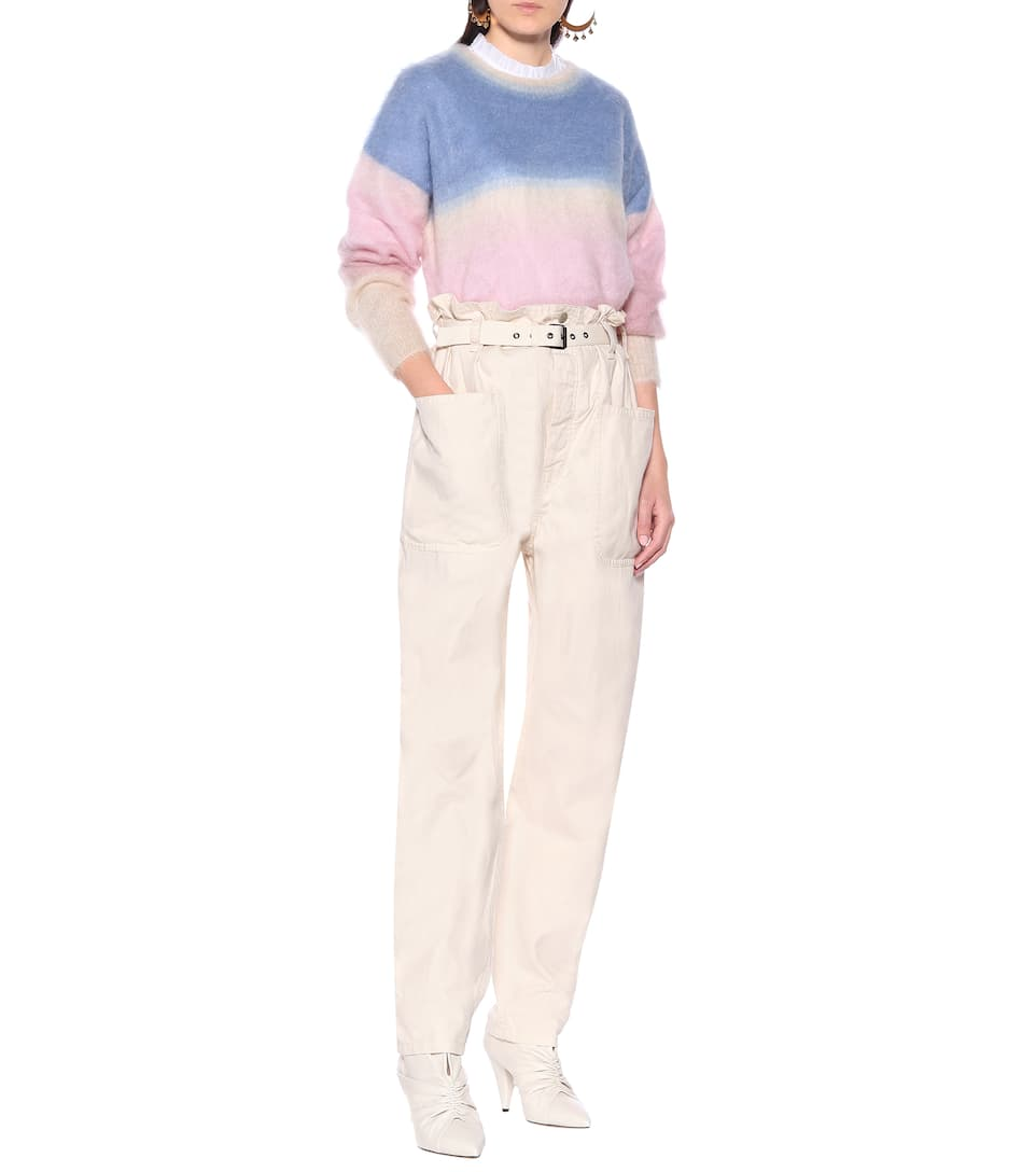 Isabel Marant, Étoile - Jeans Rinny in cotone e lino