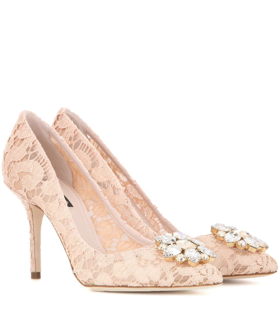 Dolce & Gabbana Platform Lace Pumps release dates cheap price zsZog8Lm