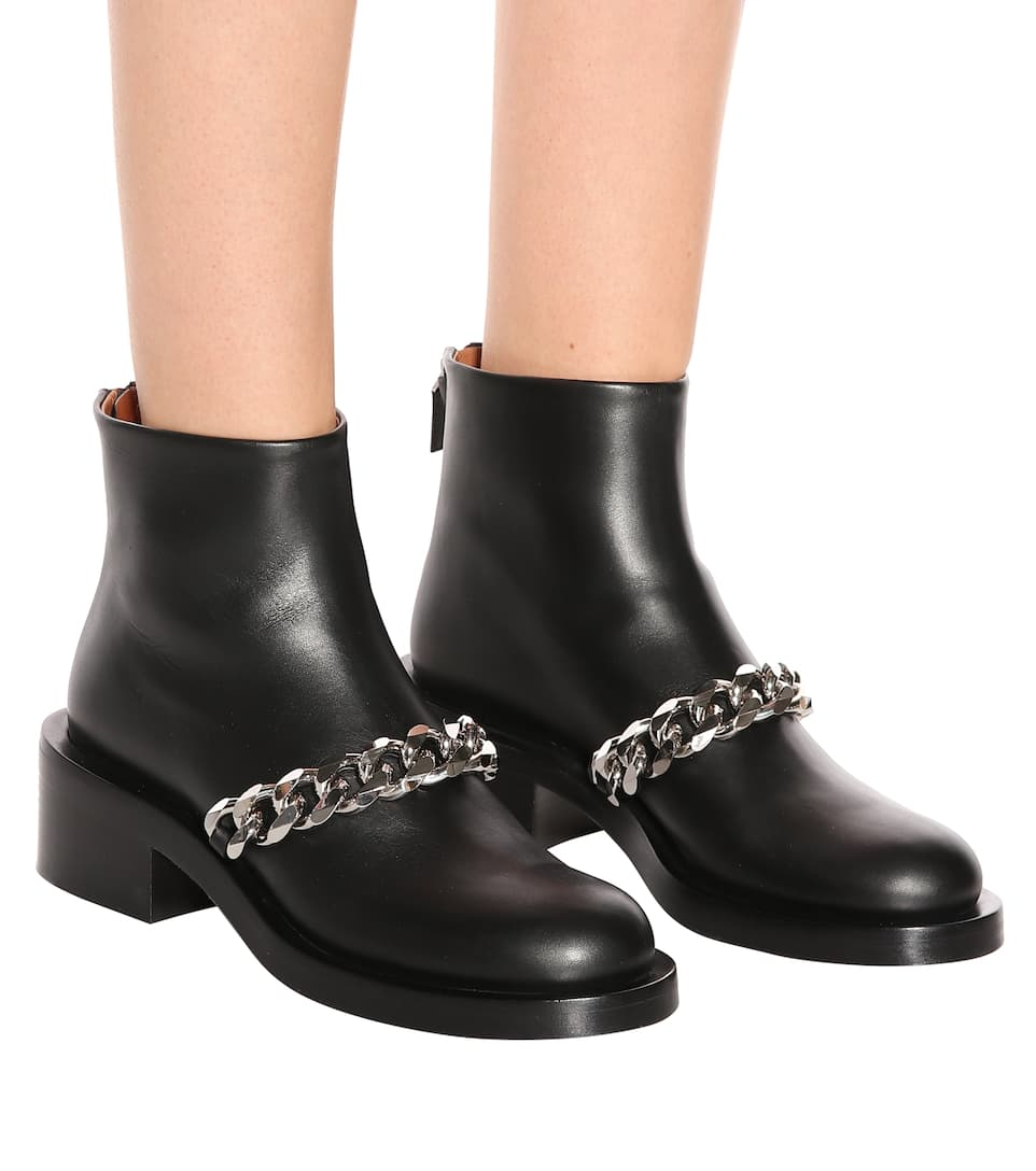 Givenchy Studded Leather Boots