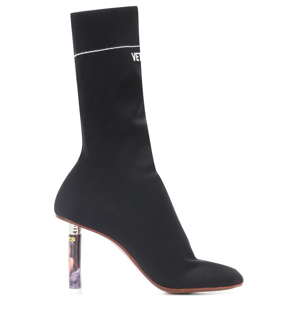 Vetements Sock Boots mit Absatz Billig Verkauf Countdown-Paket TylMa