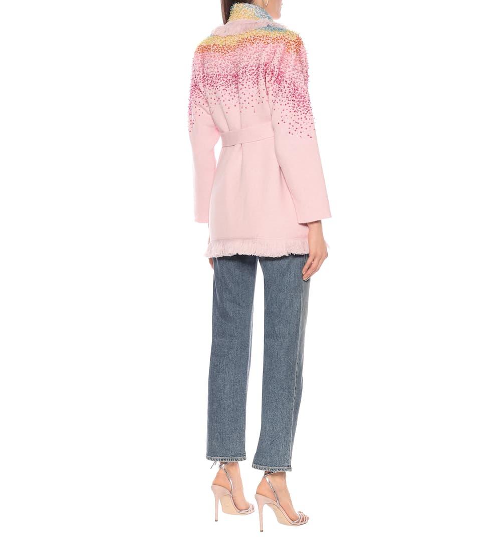 Alanui - LA Sunset Shades wool-blend cardigan
