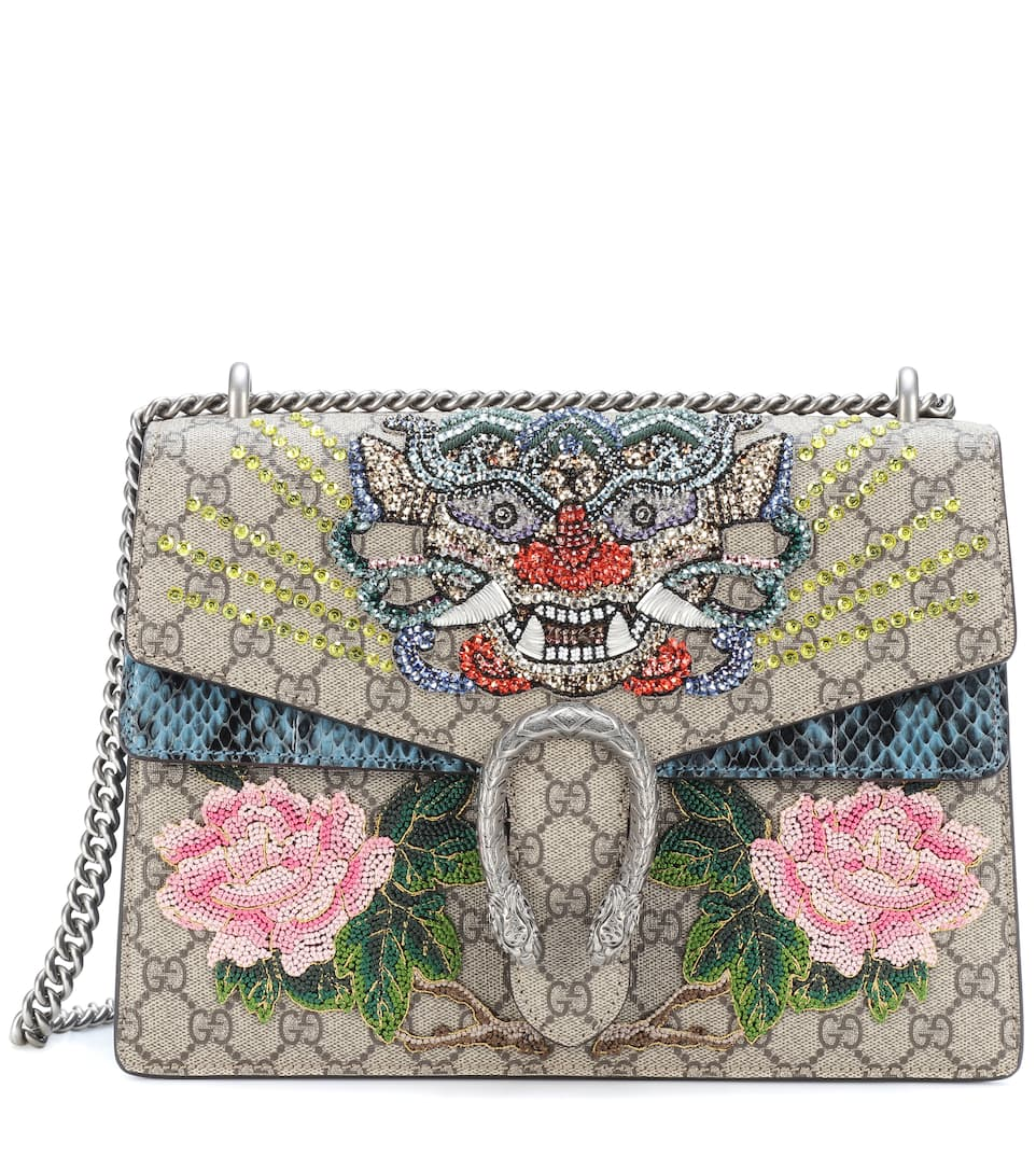 Sac Cross-Body En Toile Et Serpent Dionysus - lOAlLLiDVt