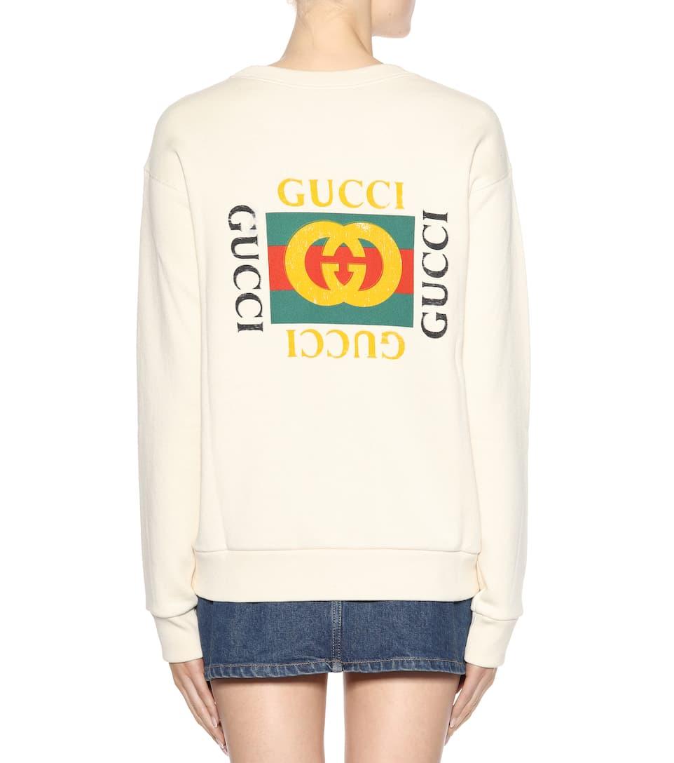 Gucci Pullover mit Print Verkauf Wählen Eine Beste Authentisch Günstiger Preis qMoGu