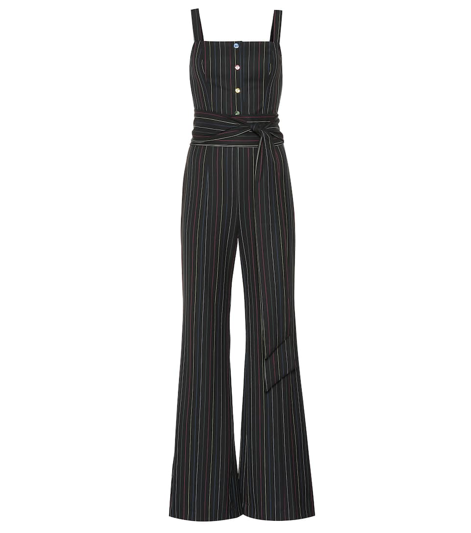 Tao Striped Jumpsuit by Staud