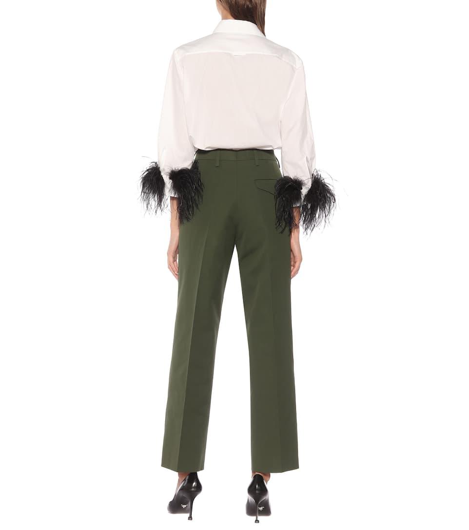 En Pantalon Pantalon Prada Coton Prada En MqUzpGSV