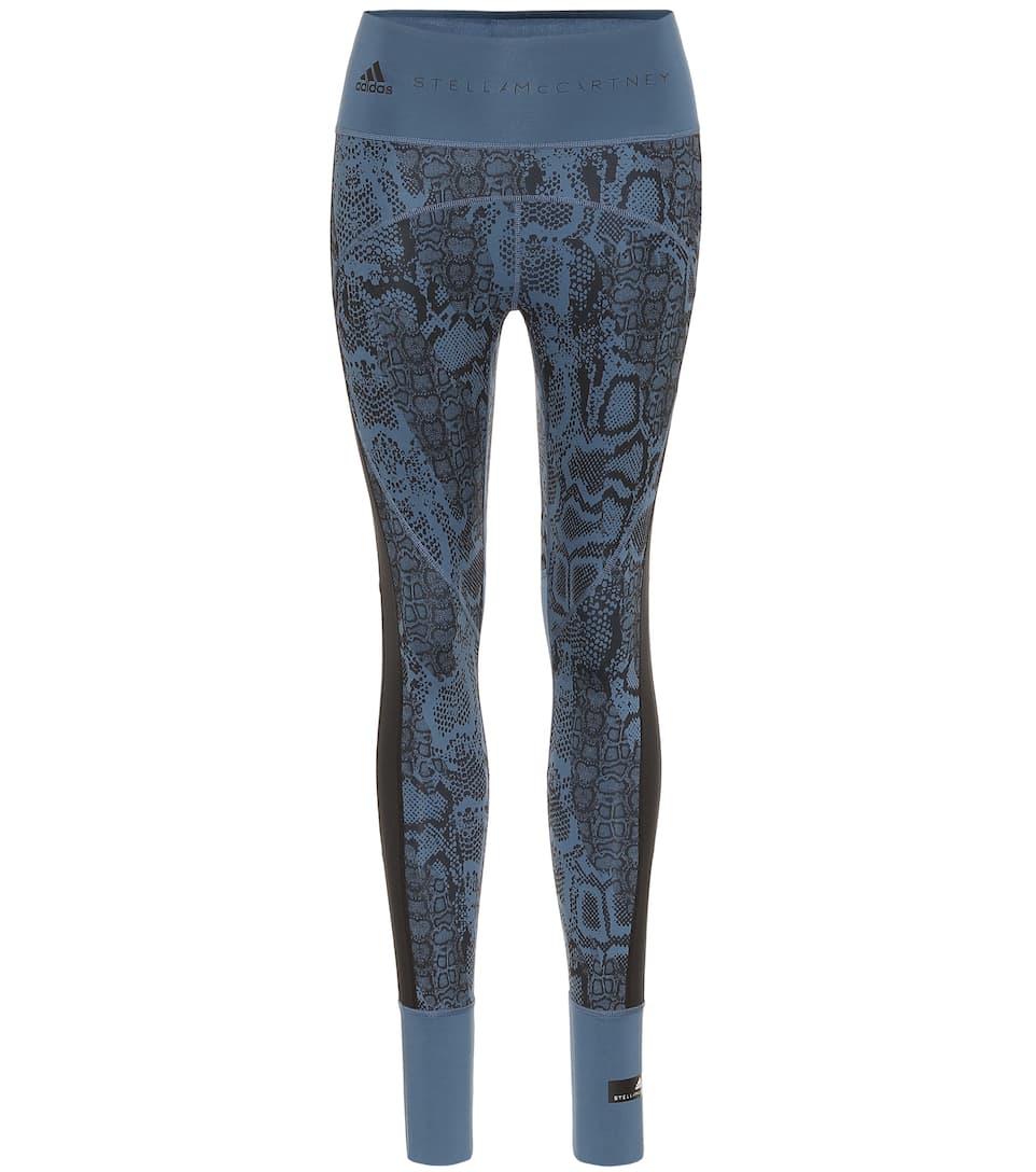 Adidas by Stella McCartney Legging imprimé à taille haute