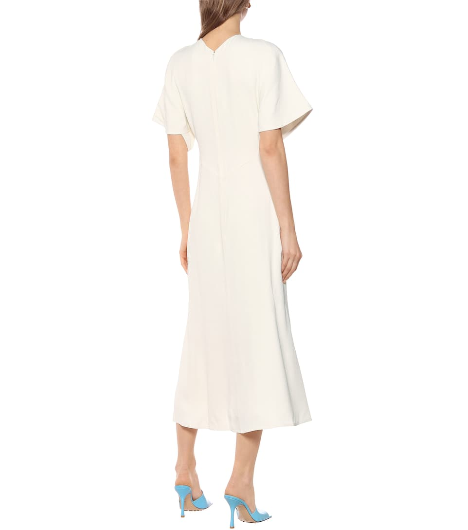 Victoria Beckham - Crêpe midi dress