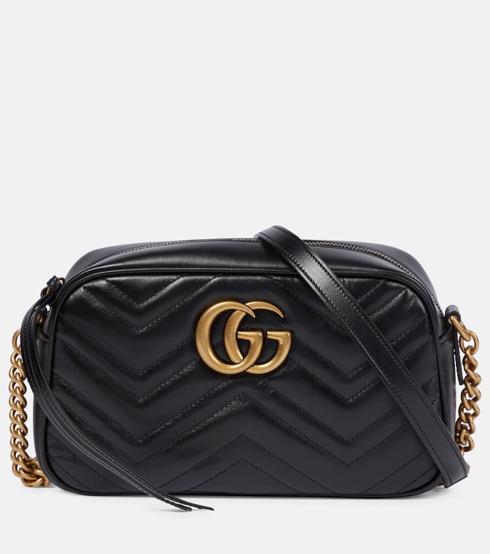 gg marmont matelass leather crossbody bag gucci. Black Bedroom Furniture Sets. Home Design Ideas
