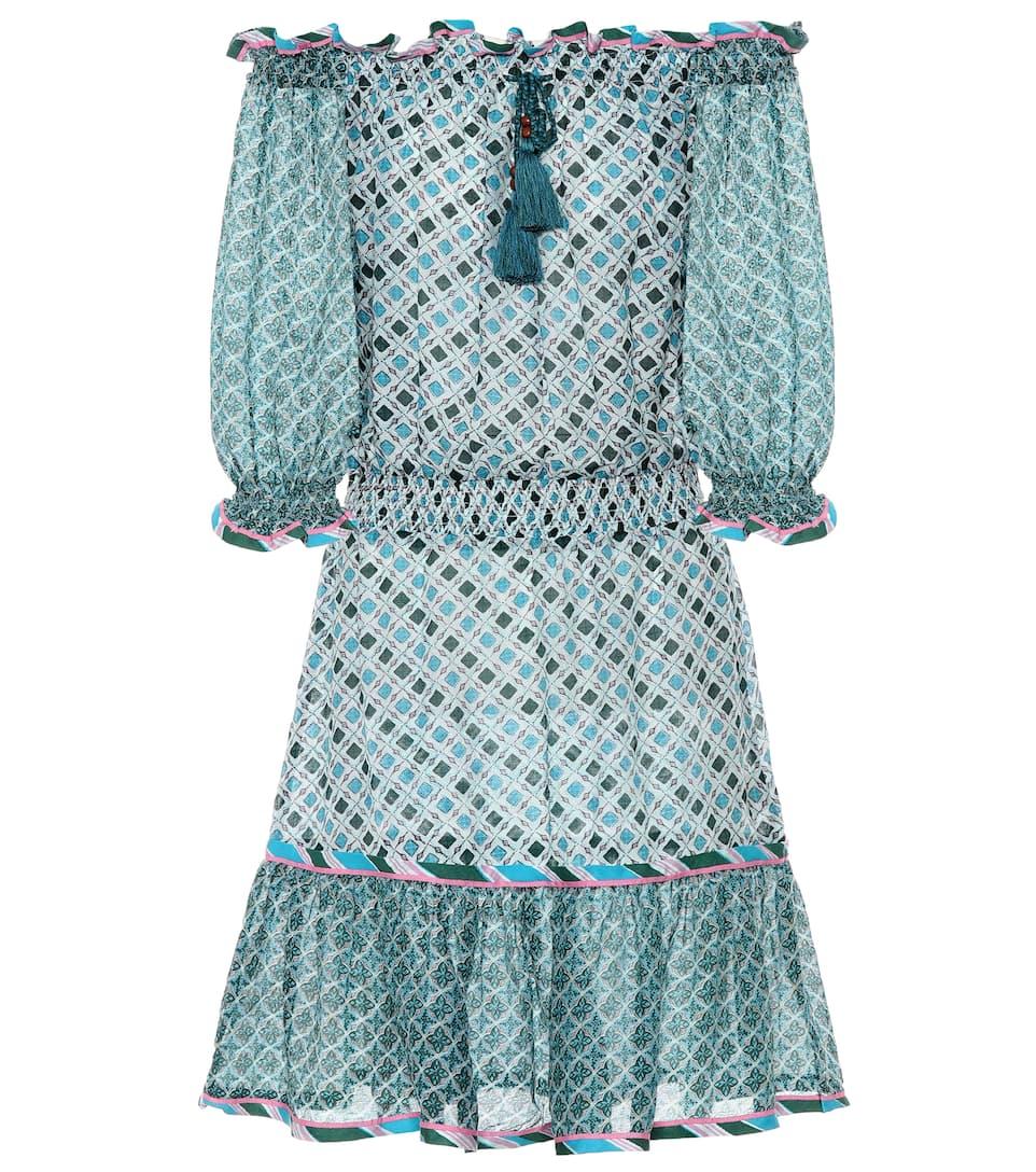 Talitha Kleid aus Seide und Baumwolle