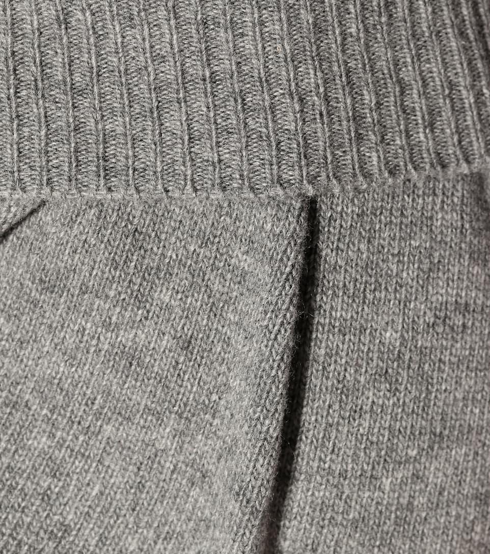 Balenciaga Asymmetrischer Pullover aus Wolle und Cashmere