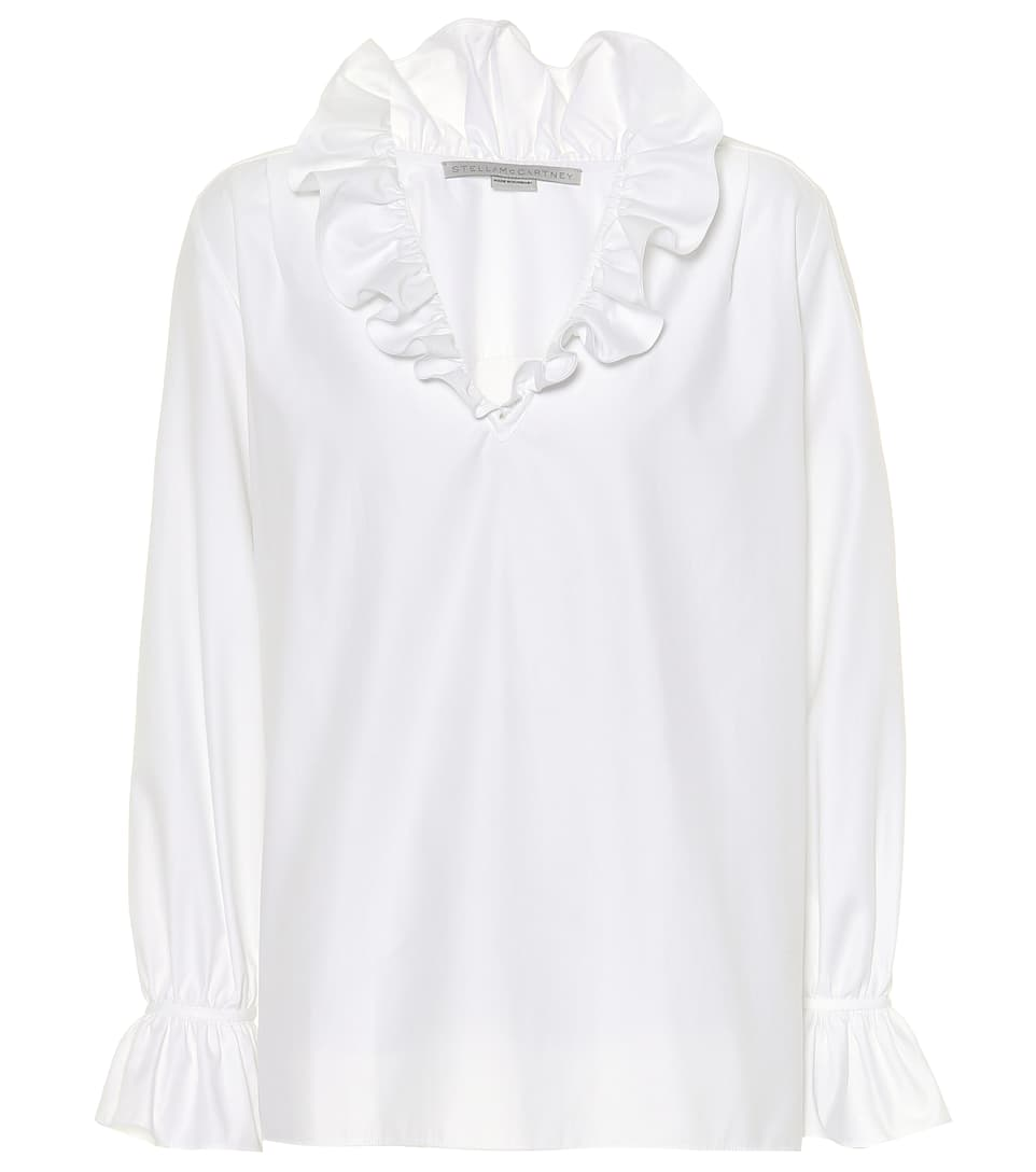 Mariana Cotton Top in White