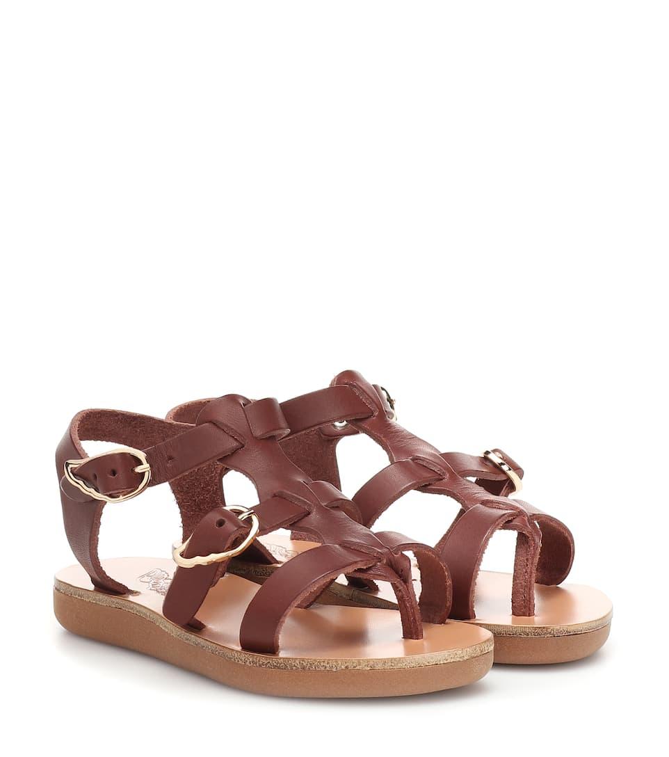 4df434b7d Ancient Greek Sandals Kids - Sandali Little Grace Kelly in pelle ...