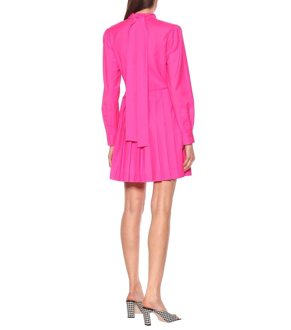 MSGM - Virgin wool shirt dress