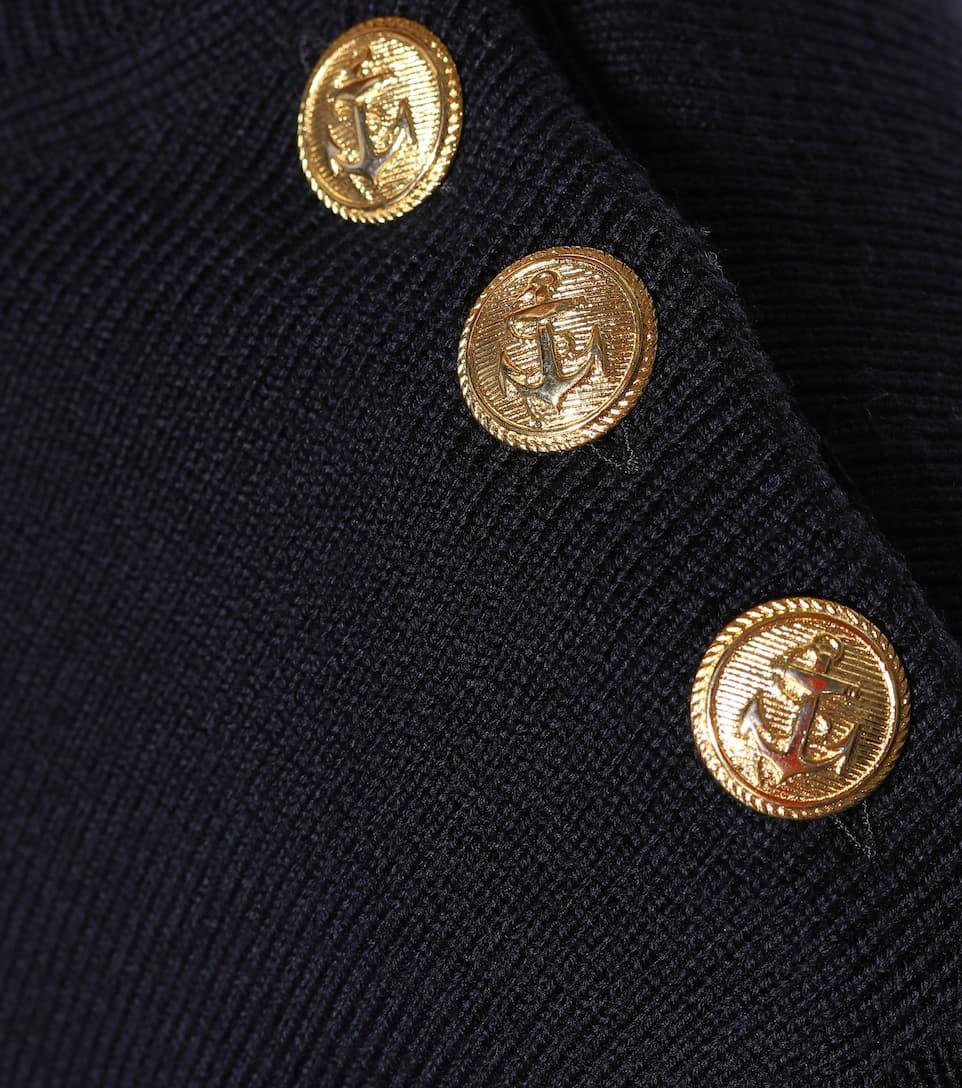 JW Anderson Gestreifter Pullover aus Wolle
