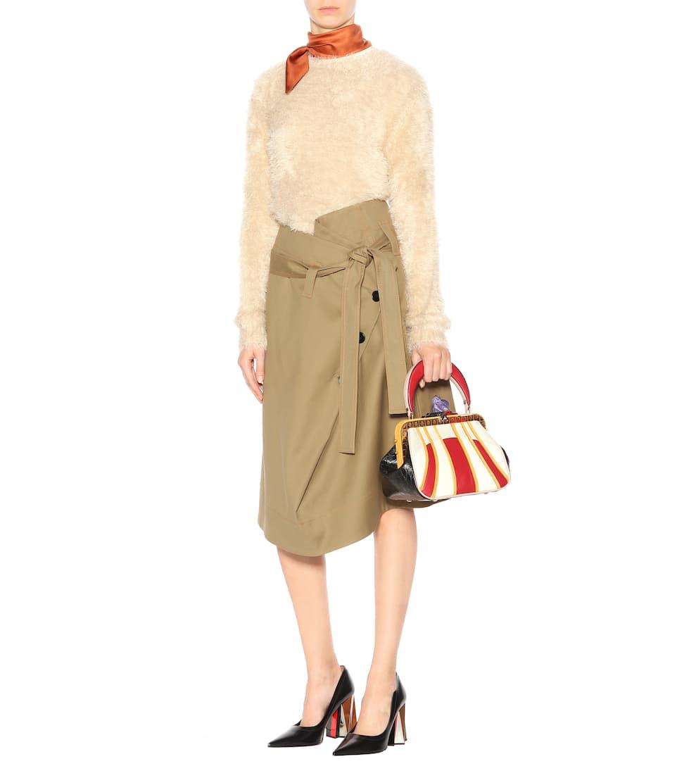 Finden Große Online Offiziell Marni Exklusiv bei mytheresa.com �?Tasche Mademoiselle aus Leder Verkauf Offizielle NnAFaw59