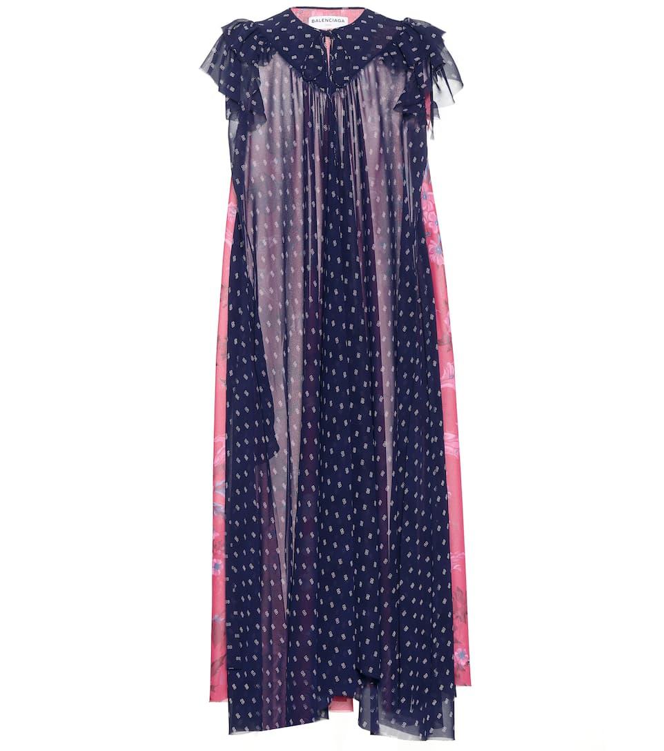 Balenciaga Bedrucktes Kleid