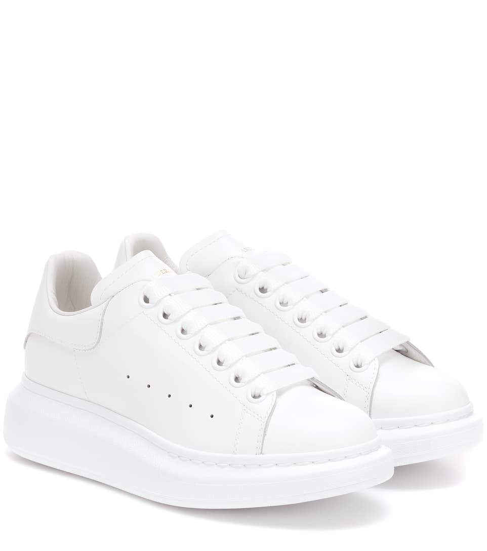 Leather Sneakers - Alexander McQueen | mytheresa