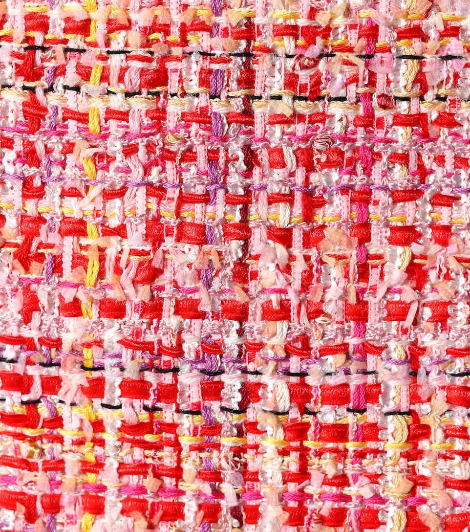 Alexander McQueen Etuikleid aus Tweed