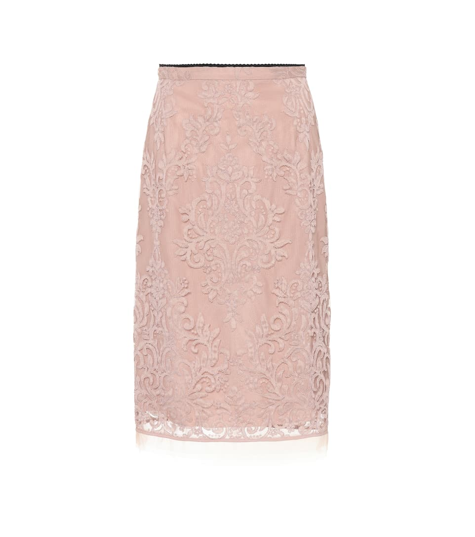 Lace pencil skirt N°21 Cheap Outlet Locations Free Shipping Low Cost Clearance Amazing Price Shopping Online For Sale NDFkTpivA