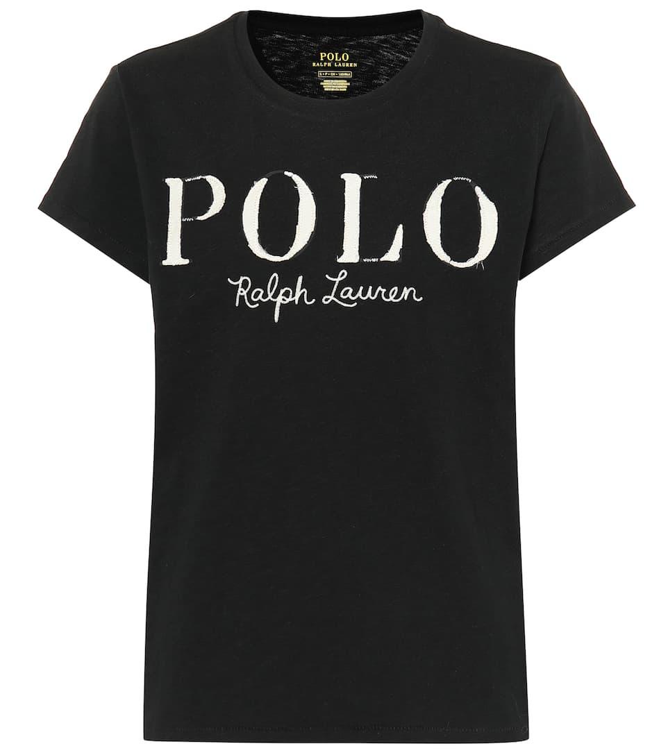 Ralph En Jersey De Shirt Coton Polo T Lauren 4qLSc5AjR3