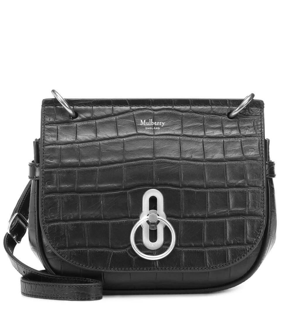 Tasche Small Amberley Aus Leder by Mulberry