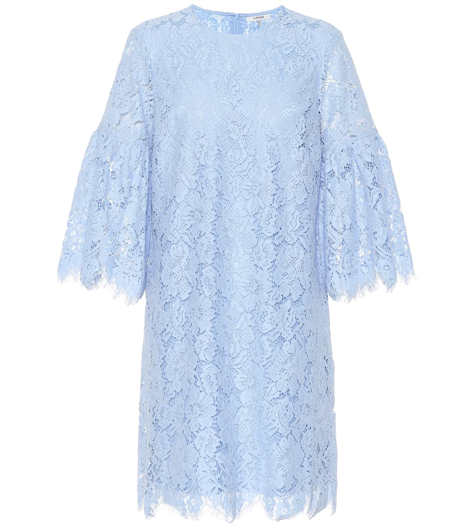 Jerome Lace Shift Dress, Blue
