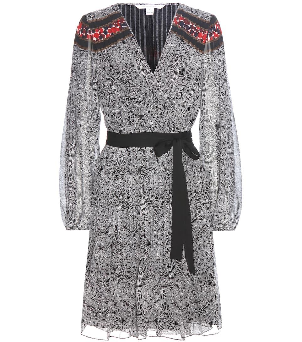 Diane von Furstenberg Bianka printed dress