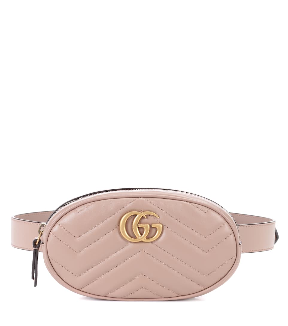 3d93551e6a3 Gg Marmont Leather Belt Bag - Gucci
