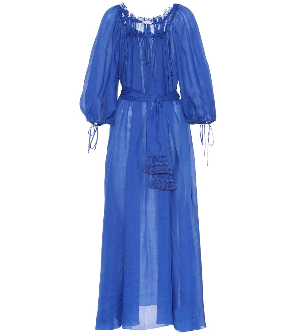 Cheap Sale Extremely Three Graces London Almost A Honeymoon maxi dress Cobalt Buy Cheap Low Price Buy Cheap Shop For 72fCAWy