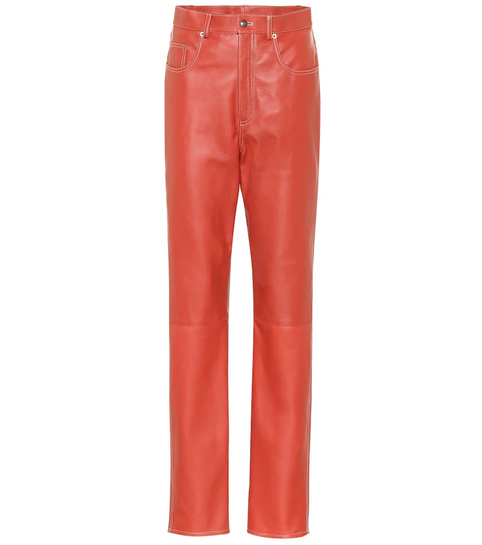 f83ded33217 Gucci - Leather pants