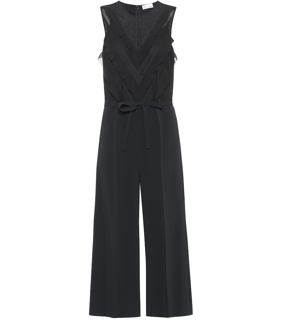 Cady Crêpe Jumpsuit by Red Valentino