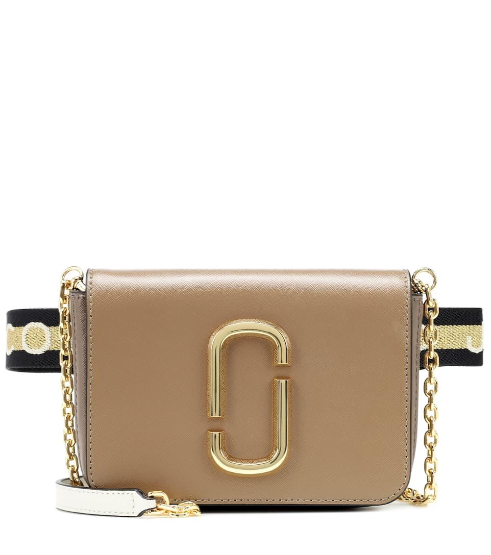 Hip Shot Leather Belt Bag - Marc Jacobs   mytheresa.com 2719a1dfc23