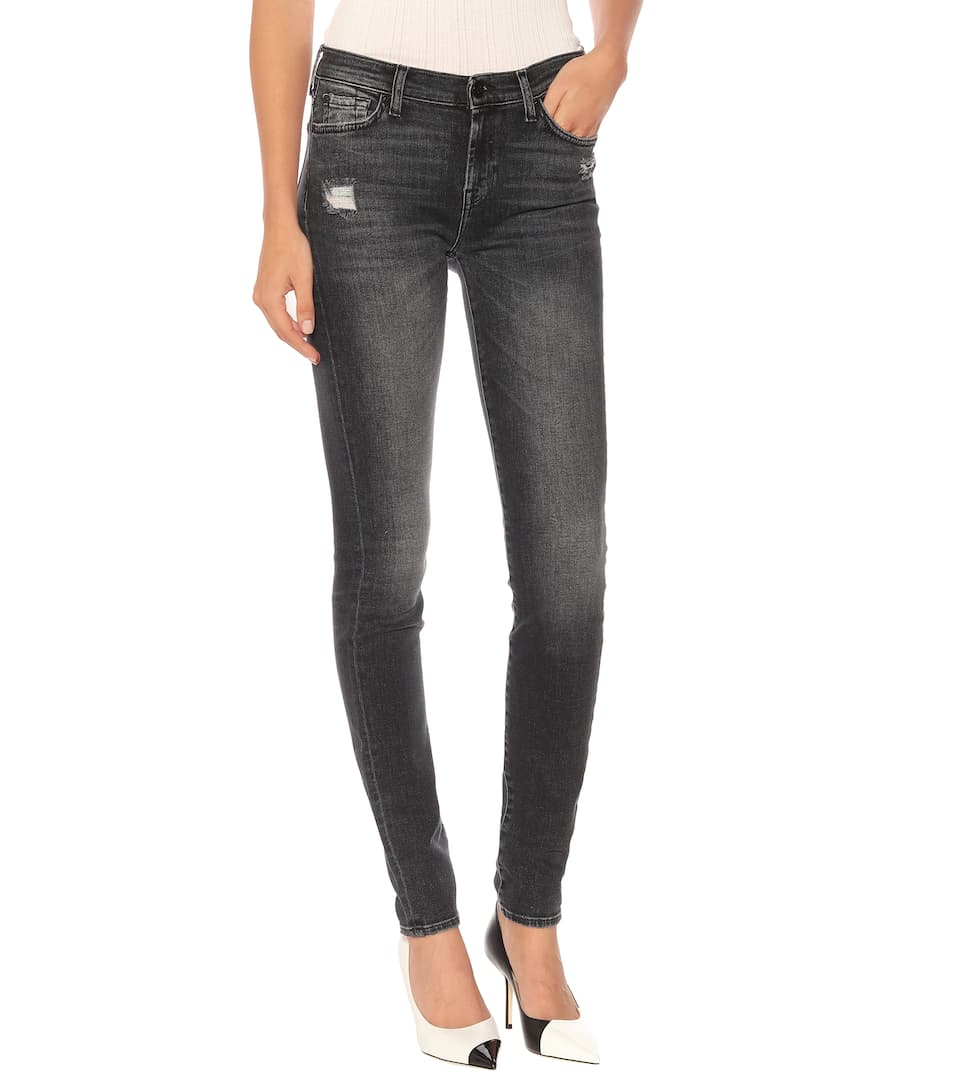 Taille Mi The For Skinny À 7 haute All Jean Mankind UGSMqzVp